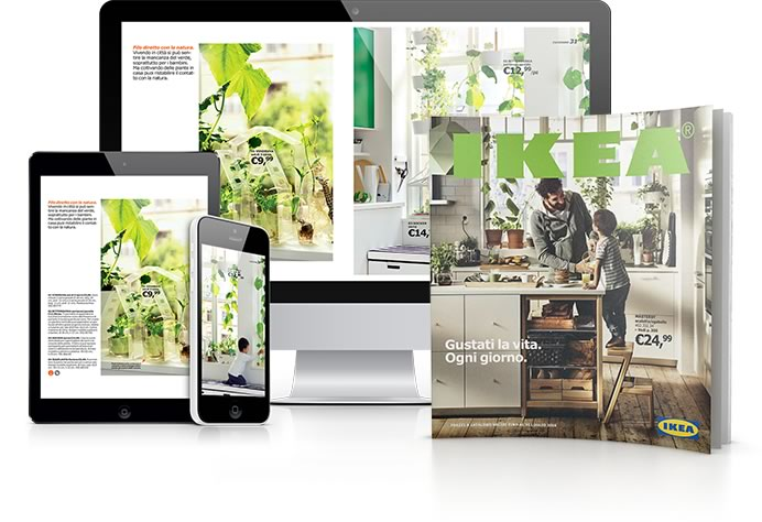 Com cambiato il catalogo aziendale nell era digitale - Ikea padova catalogo prodotti ...